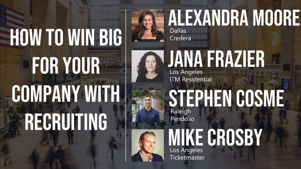 How to Win Big for Your Company With Recruiting
