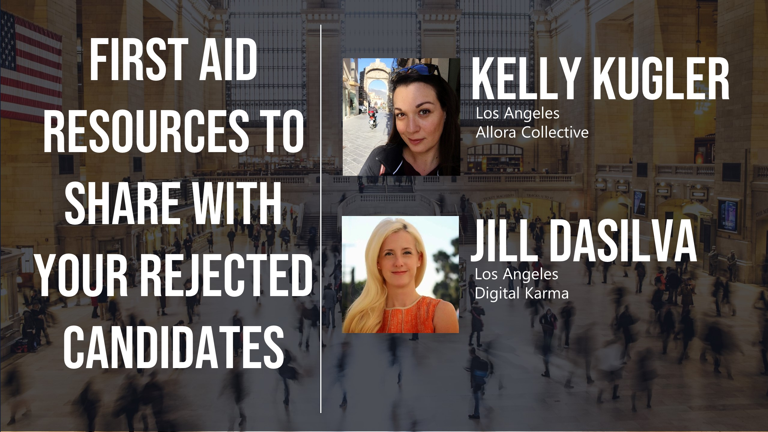 First Aid Resources to Share with Your Rejected Candidates