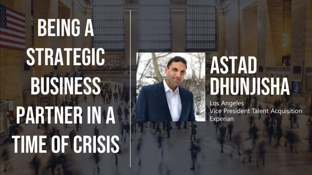 Being a Strategic Business Partner in a Time of Crisis