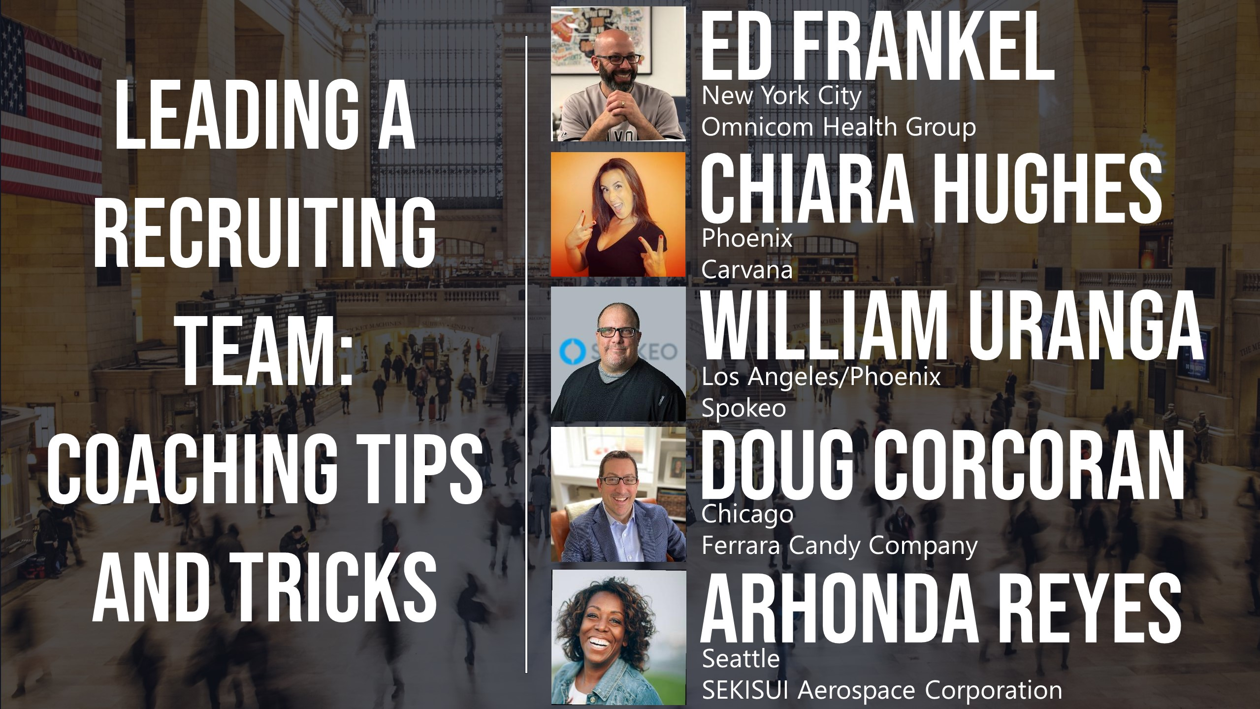 Leading a Recruiting Team: Coaching Tips and Tricks