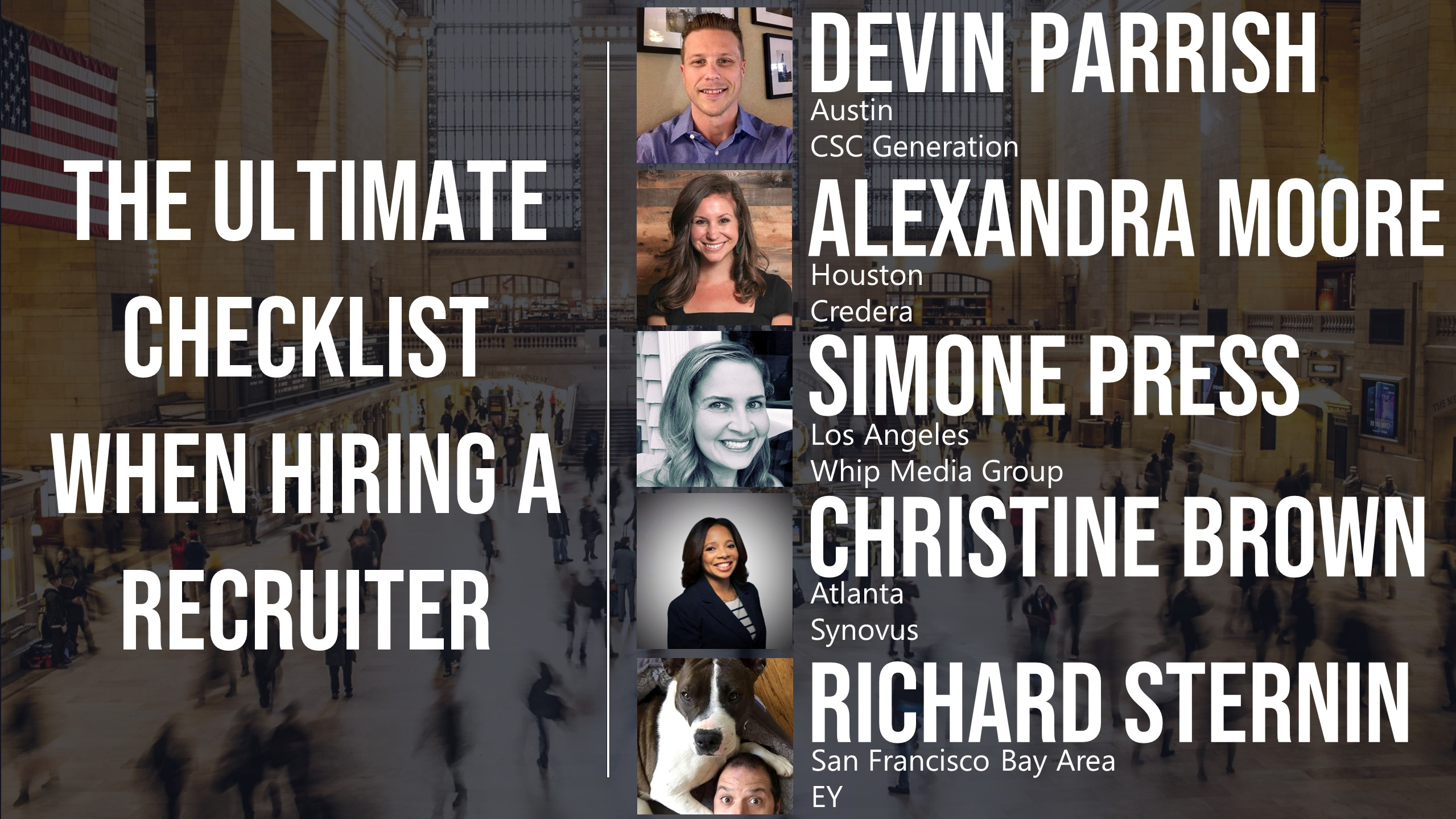 The Ultimate Checklist When Hiring a Recruiter