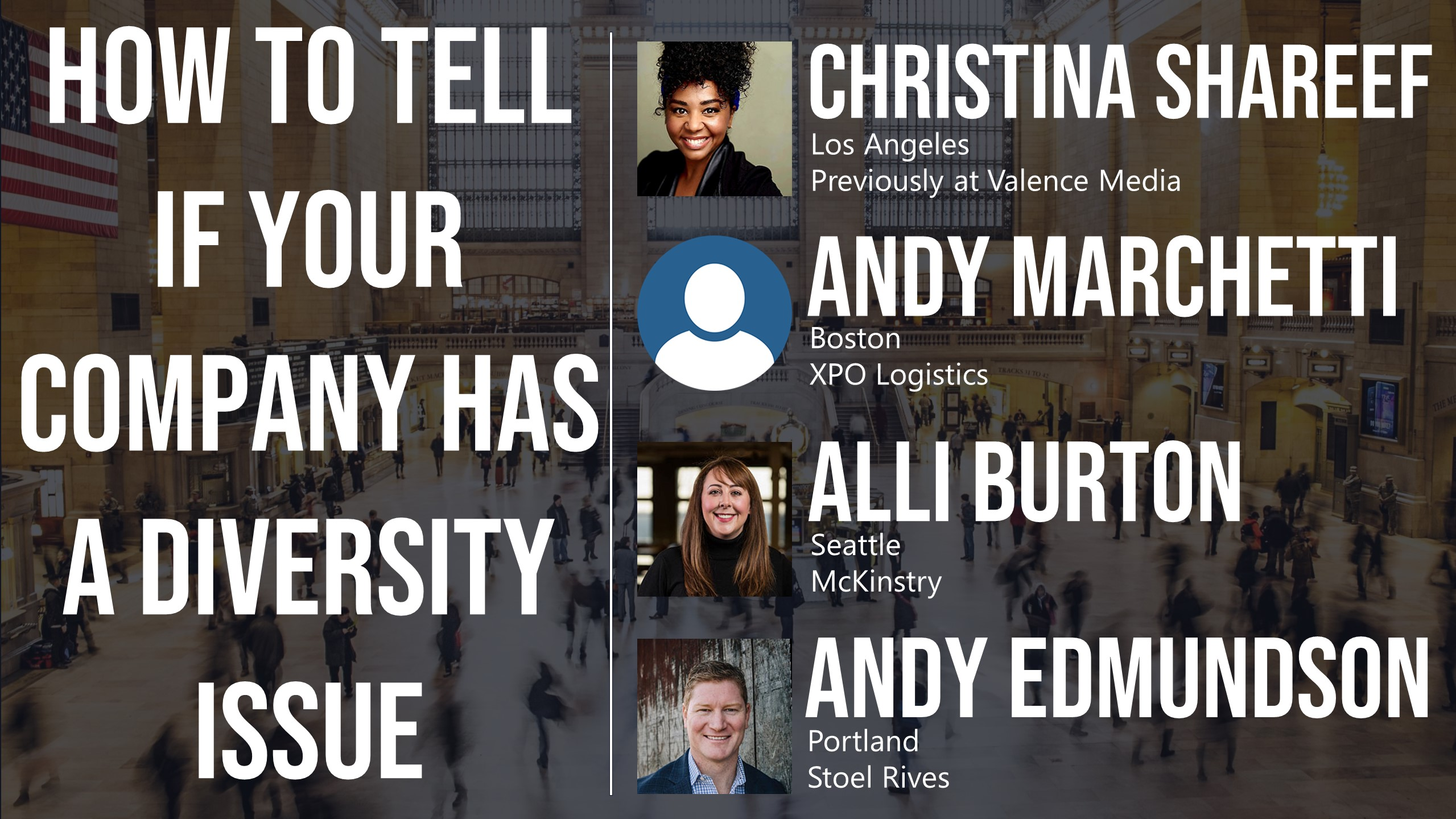 How to Tell if Your Company Has a Diversity Issue