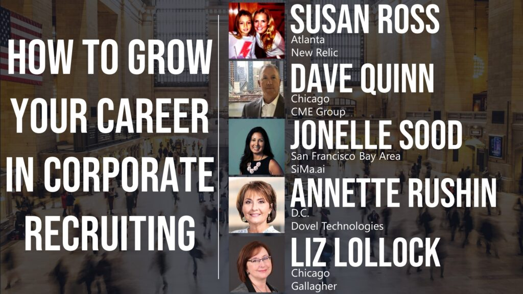 How to Grow Your Career in the Corporate Recruiting