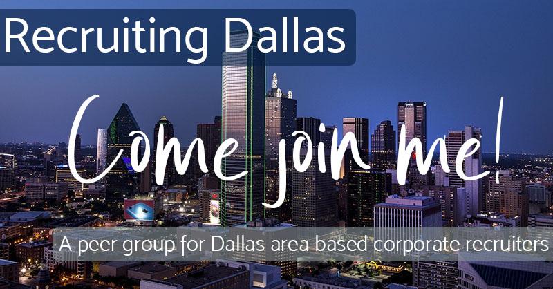 Come Join Me - Recruiting Dallas
