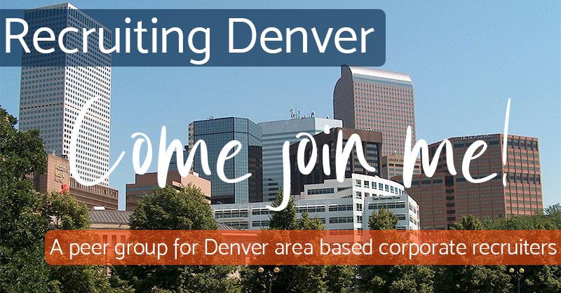 Come Join Me - Recruiting Denver