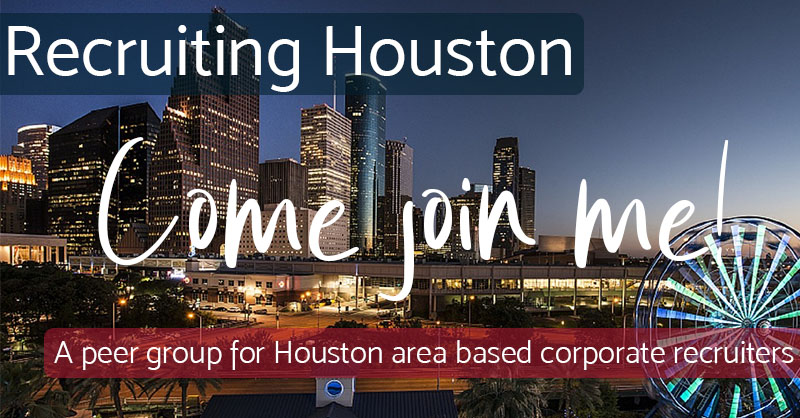 Come Join Me - Recruiting Houston