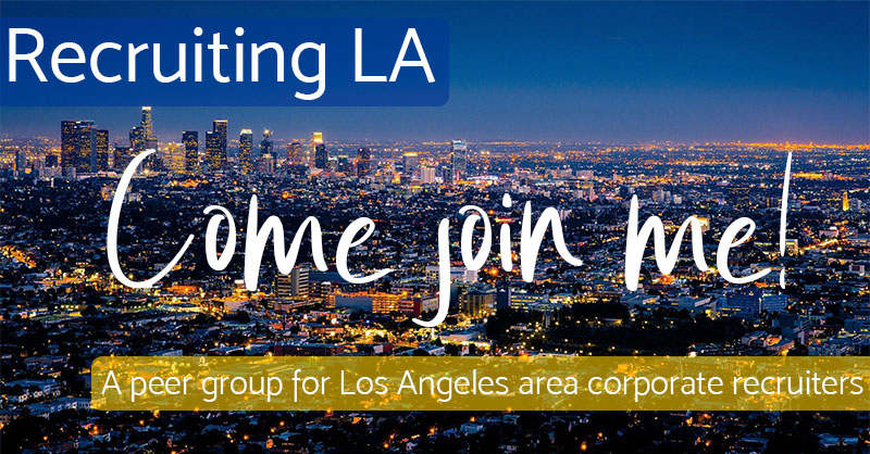 Come Join Me - Recruiting Los Angeles