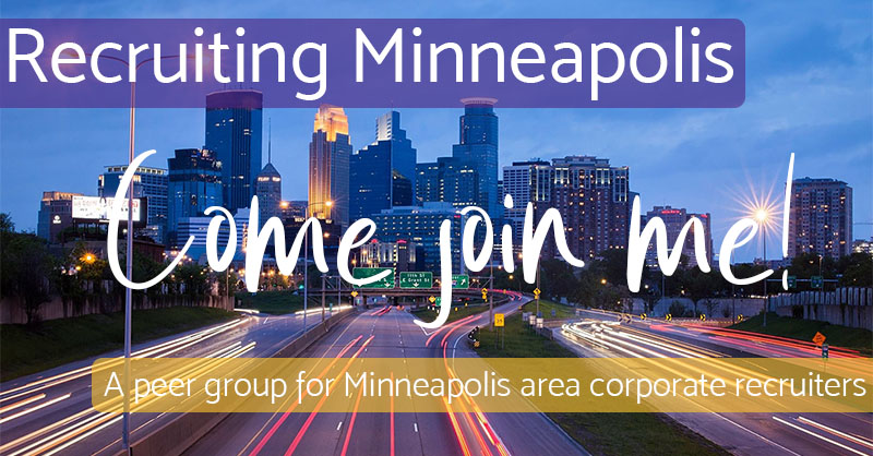 Come Join Me - Recruiting Minneapolis