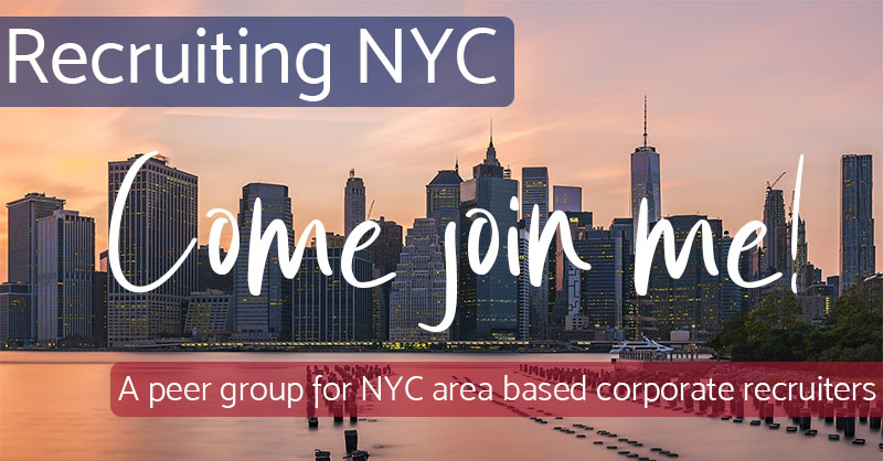 Come Join Me - Recruiting NYC