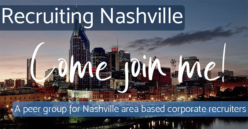 Come Join Me - Recruiting Nashville