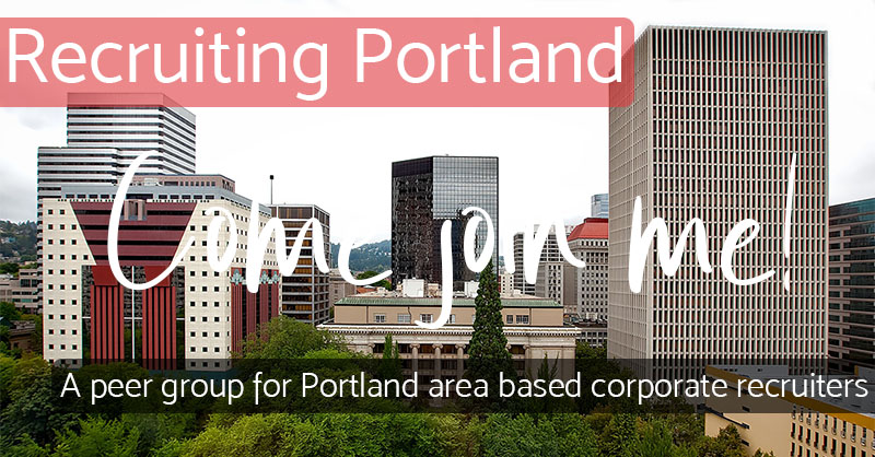 Come Join Me - Recruiting Portland