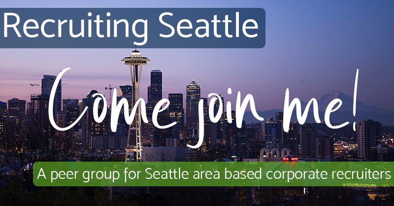 Come Join Me - Recruiting Seattle