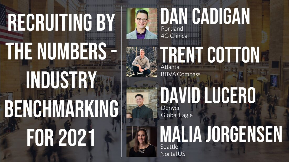 Recruiting By The Numbers - Industry Benchmarking for 2021
