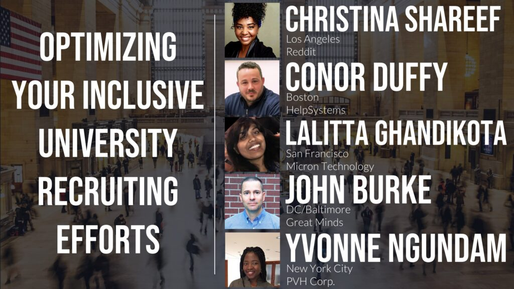 Optimizing Your Inclusive University Recruiting Efforts