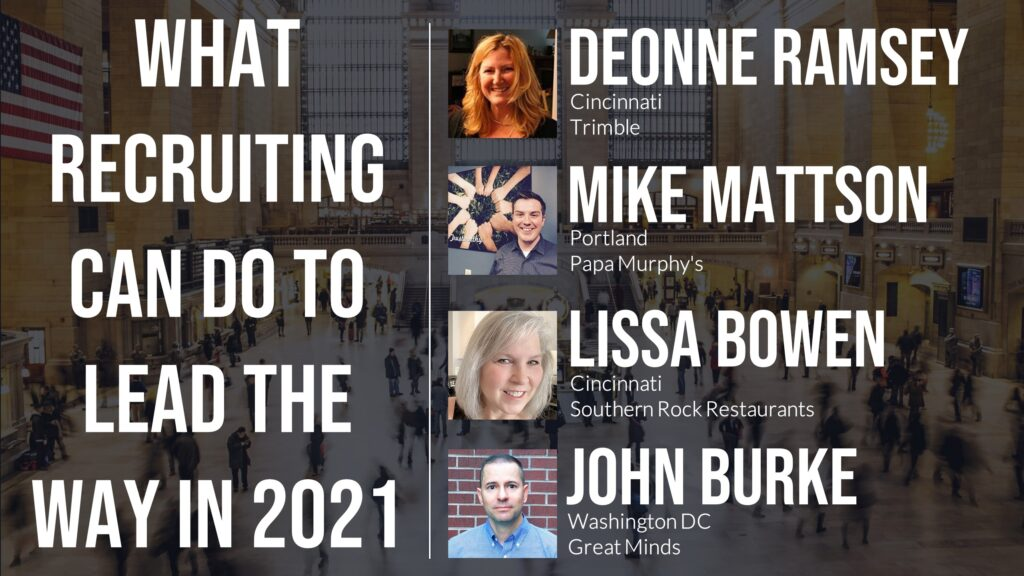 What Recruiting Can Do to Lead the Way in 2021