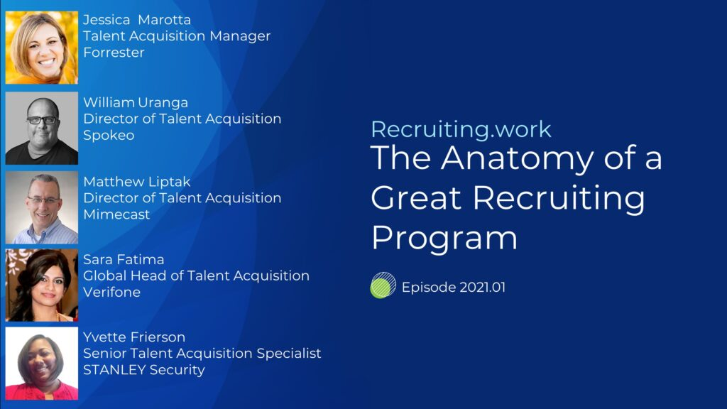 The Anatomy of a Great Recruiting Program
