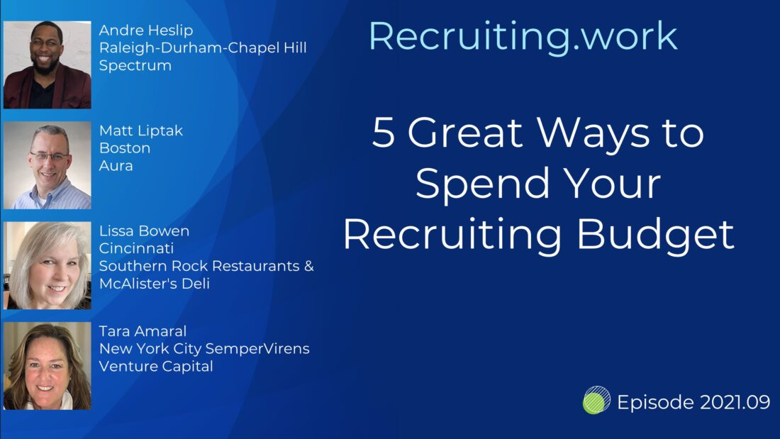 5 Great Ways to Spend Your Recruiting Budget
