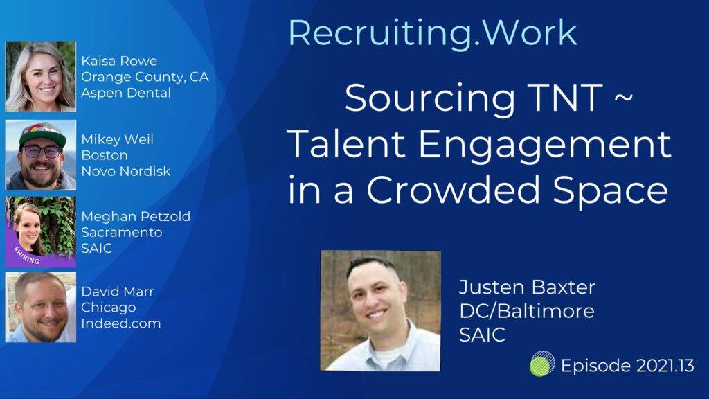 Sourcing TNT - Talent Engagement in a Crowded Space